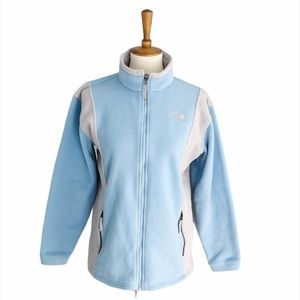The North Face Blue & Gray Jacket Girls